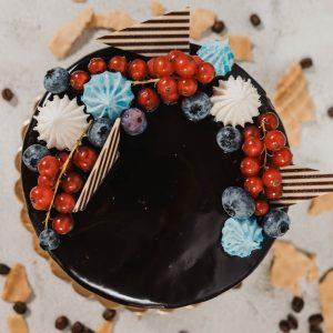 Csokis málnás csoda torta