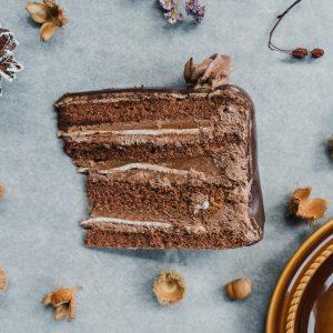 Marcipános csoki szelet